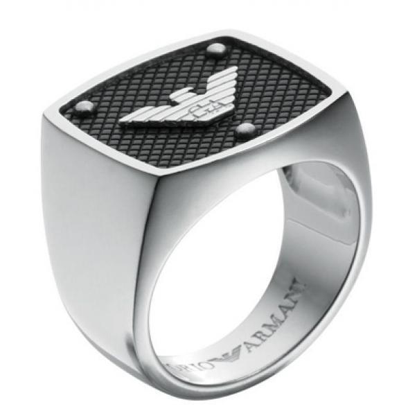 hombre anillos emporio armani anillo 2152 modelo acero colores talla ...